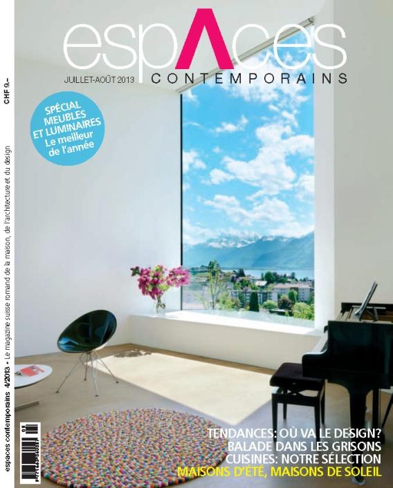 ESPACES CONTEMPORAINS - COPERTINA 4-2013