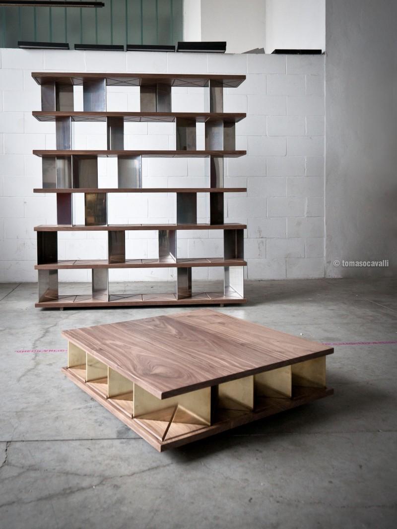 Matrice 1x6 libreria e 4x4 tavolino